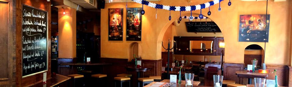 Fussball im Restaurant Maybach